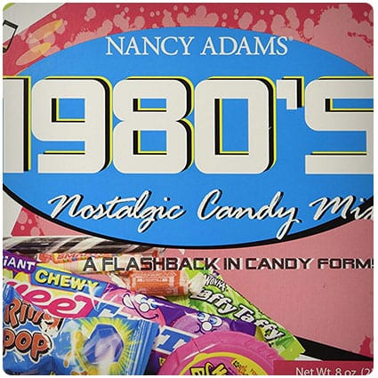 1980s retro candy gift box