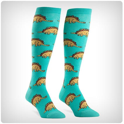 Sock It To Me Tacosaurus Knee High Socks