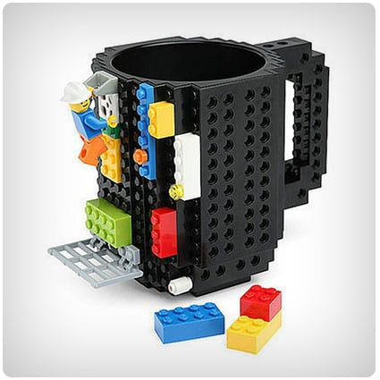 Build-On Brick Mug Coffee Cup