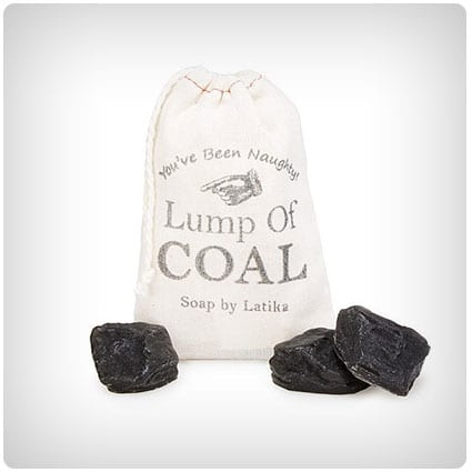 Bag of Coal Soaps