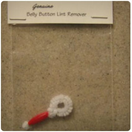 Belly Button Lint Remover