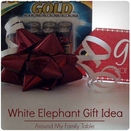 Gifts Not Included White Elephant Gift Idea