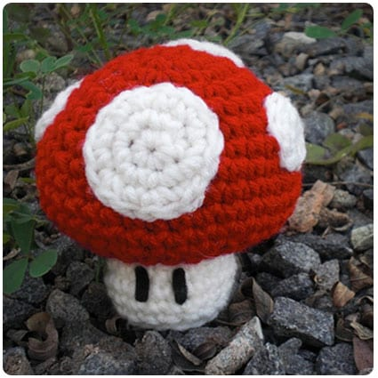 Yet Another Mario Mushroom Pattern