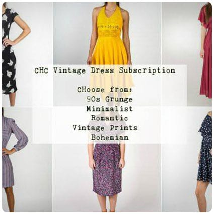 CHC Vintage Dress Subscription