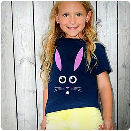 4687774b755 Cute Little Easter Bunny T-Shirt