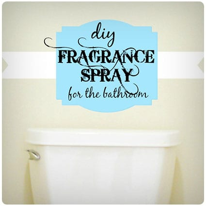 Diy Poo Fragrance Spray for the Bathroom