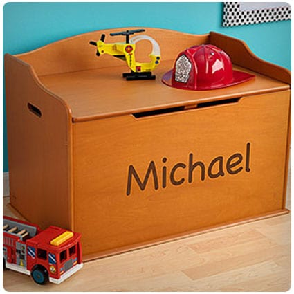 KidKraft Personalized Austin Toy Box
