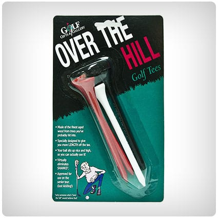 Over The Hill Golf Tees