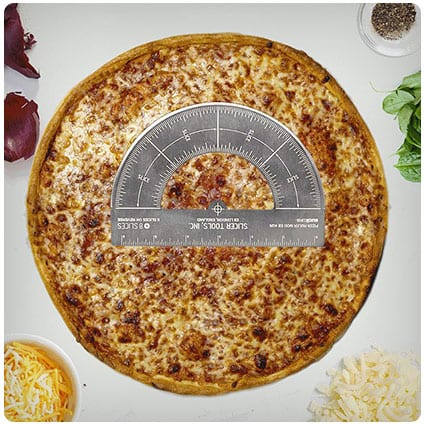 Pizza Cutting Protractor