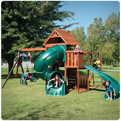 Swing-N-Slide Grandview Twist Play Set