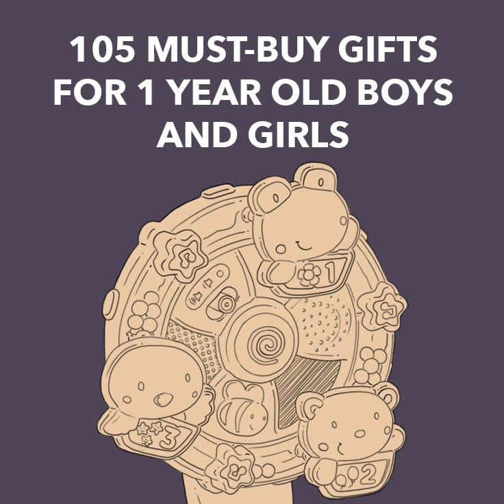 best gifts for 1 year old boys and girls