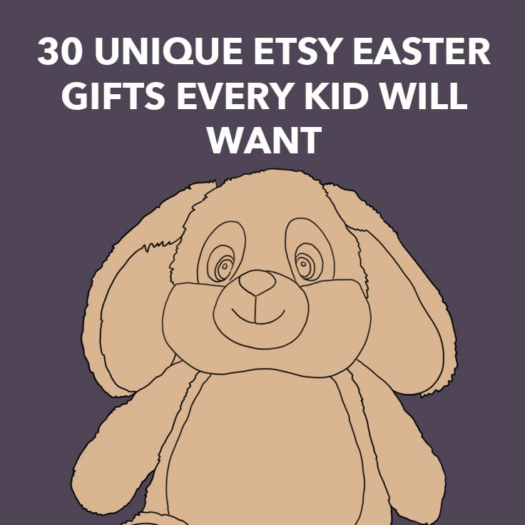 30 unique etsy easter gifts every kid will want dodo burd negle Images