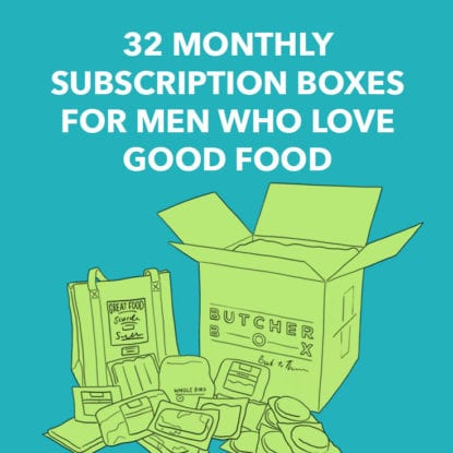 food subscription boxes for men
