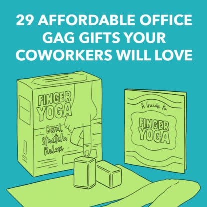 31 good gifts for coworkers you actually like dodo burd diy stess balls solutioingenieria Gallery
