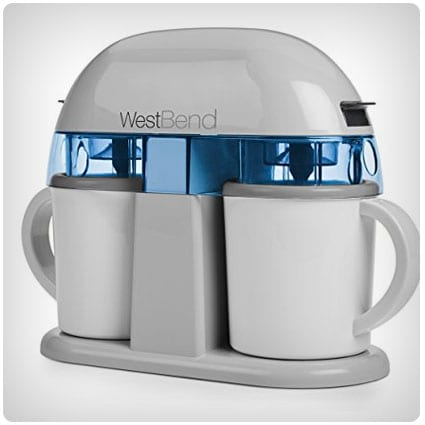West Bend Dual Single Serve Ice Cream Machine