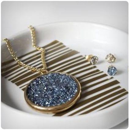 Diy Faux Druzy Jewelry