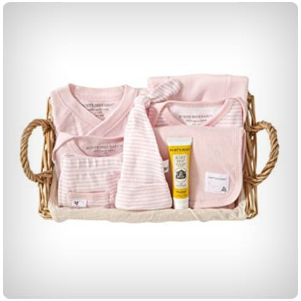 Burts Bees Baby Blossom Basket