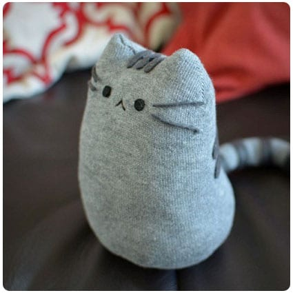Diy Pusheen Sock Plush