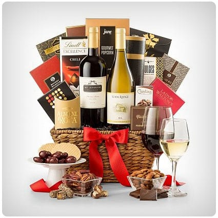 Expressions of Sympathy Wine Basket