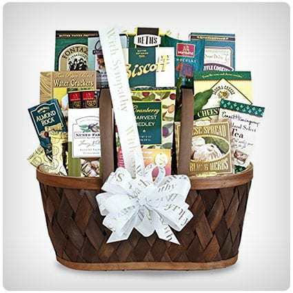Heartfelt Thoughts Sympathy Gift Basket