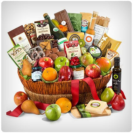 Motherlode Grand Fruit and Gourmet Gift Basket
