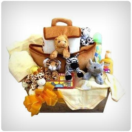 3064bb9a22f9 50 Brilliant Baby Gift Baskets for New Parents - Dodo Burd