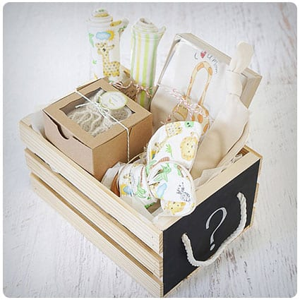 Organic Baby Gift Basket