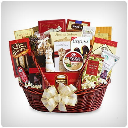 Peace and Prayer Sympathy Gift Basket