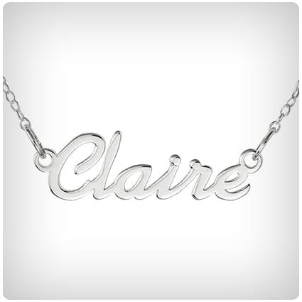 Script Personalized Name Necklace