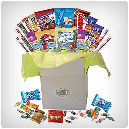 Snack Gift Basket Care Package