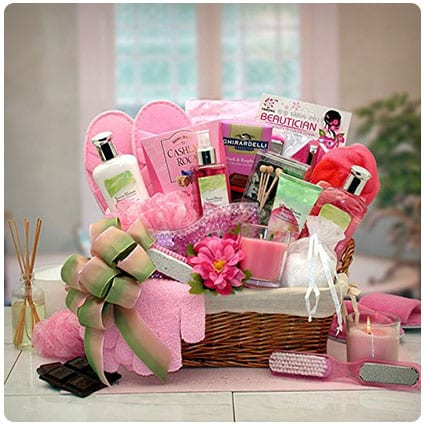 Total Spa Day Spa Gift Basket