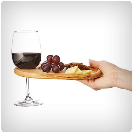 Wine & Appetizer Tray
