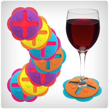 Wine Glass Drink Coasters