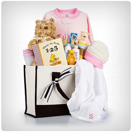 Winnie the Pooh Embroidered Baby Gift Set