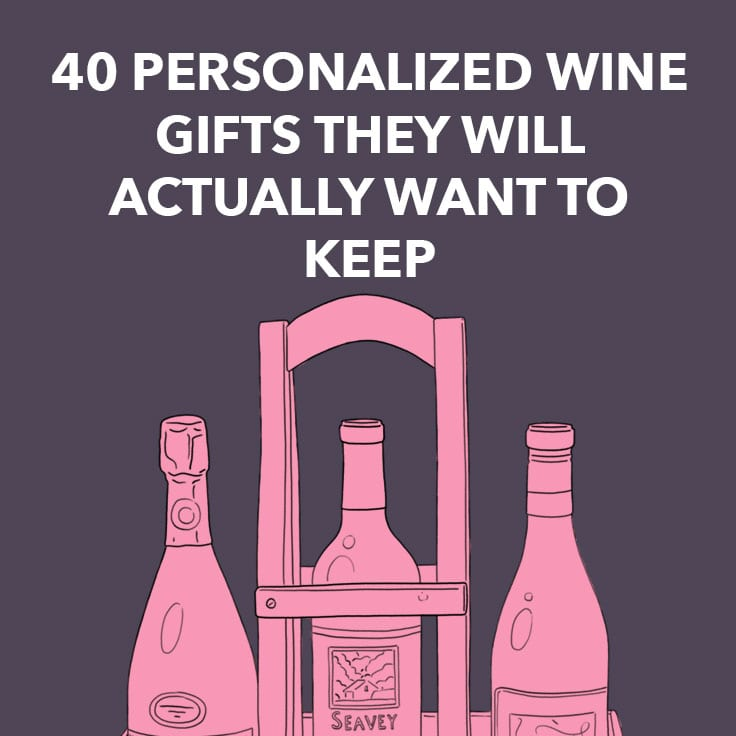 personalized wine gifts