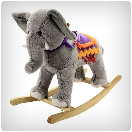 Animal Adventure Circus Elephant Rocking Chair