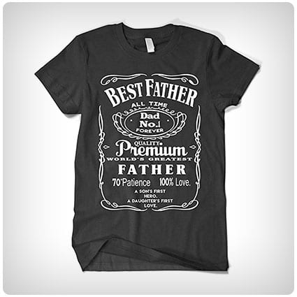 New Dad Best Dad Shirt Shirt For Dad Girl Dad Best Dad Gift Dad Shirt Dad Tee Super Dad Gift For Dad Father/'s Day Shirt