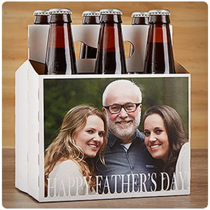 Cheers To Dad Personalized Bottle Carrier