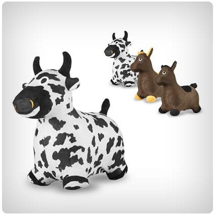 Birthday Gifts For 2 Year Save Chromo Bouncy Inflatable Real Feel Hopping Cow