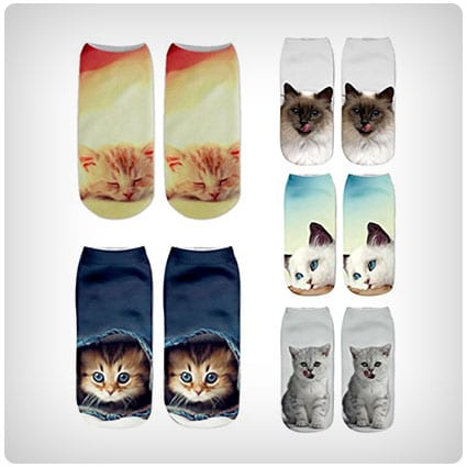 Cute Ankle Socks Gift Pack