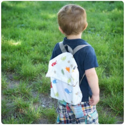 Diy 20 Minute Toddler Backpack