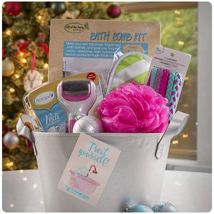 Diy Gift Spa Basket