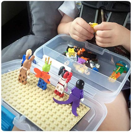 Diy Make a Lego Travel Activity Case