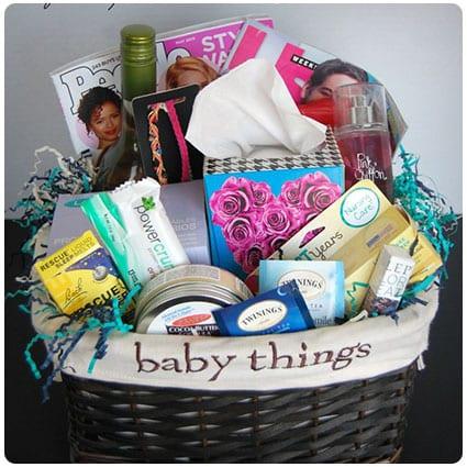 9fc57a0f7c3a 27 Helpful, Handy and Hilarious New Mom Gift Baskets - Dodo Burd