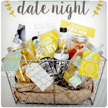 Diy New Parents  Cozy Night In Date Night Basket