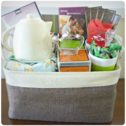 Diy Tea Gift Basket