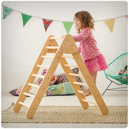 Foldable Pikler Climbing Triangle