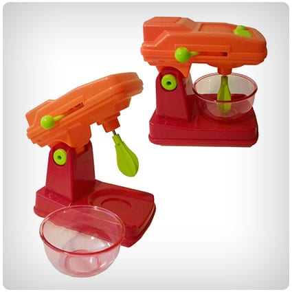 Kids Play Kitchen Set with Mixer & Toaster