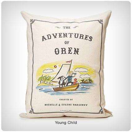 Personalized Storybook Pillow