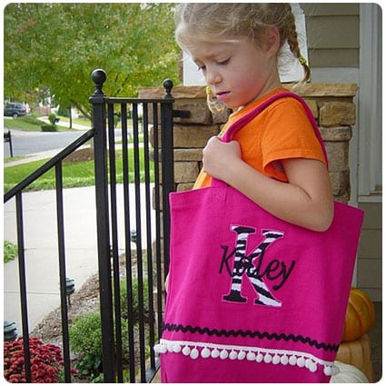 Personalized Tote Bag Girly Girl